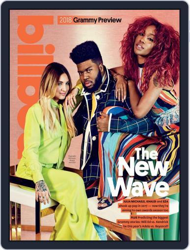 Billboard (Digital) October 28th, 2017 Issue Cover