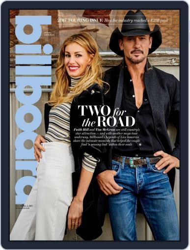 Billboard (Digital) November 18th, 2017 Issue Cover
