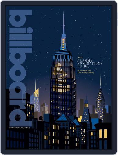 Billboard (Digital) December 16th, 2017 Issue Cover