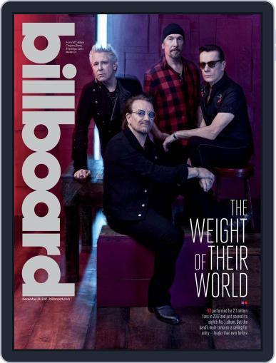 Billboard (Digital) December 23rd, 2017 Issue Cover