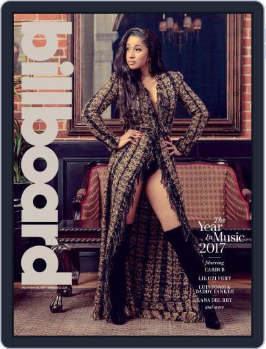 Billboard (Digital) December 30th, 2017 Issue Cover