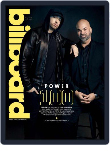 Billboard (Digital) January 27th, 2018 Issue Cover