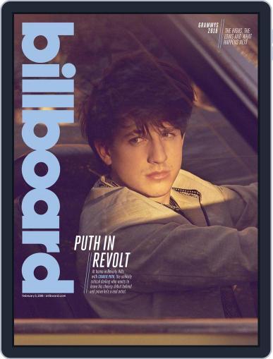 Billboard (Digital) February 3rd, 2018 Issue Cover