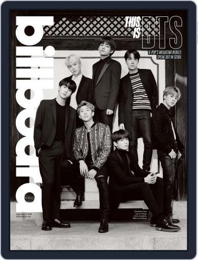 Billboard (Digital) February 17th, 2018 Issue Cover