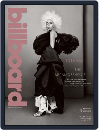 Billboard (Digital) March 3rd, 2018 Issue Cover