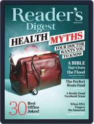 Reader's Digest (Digital) Subscription March 1st, 2019 Issue
