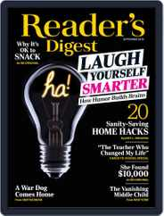 Reader's Digest (Digital) Subscription September 1st, 2019 Issue