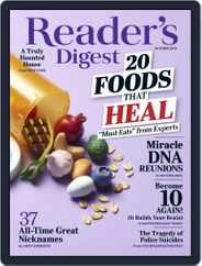 Reader's Digest (Digital) Subscription October 1st, 2019 Issue
