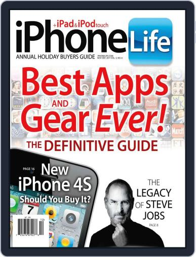 Iphone Life October 11th, 2011 Digital Back Issue Cover