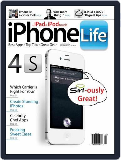 Iphone Life December 7th, 2011 Digital Back Issue Cover