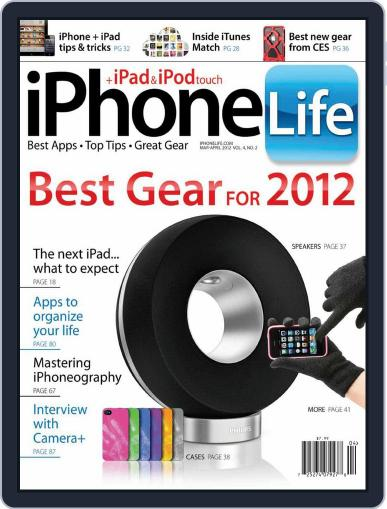Iphone Life February 7th, 2012 Digital Back Issue Cover