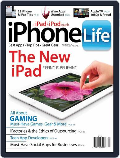 Iphone Life April 4th, 2012 Digital Back Issue Cover