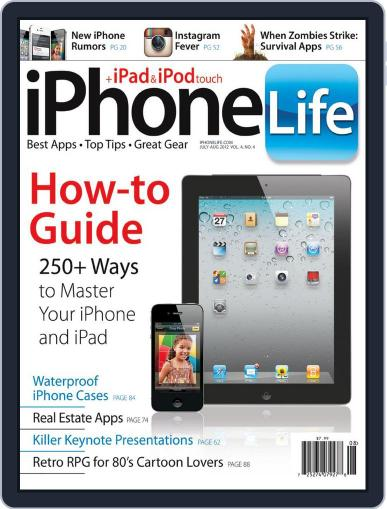 Iphone Life May 30th, 2012 Digital Back Issue Cover
