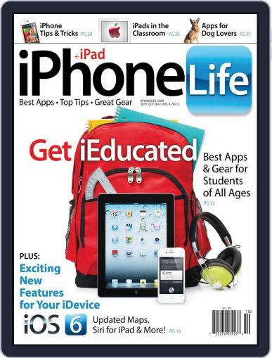 Iphone Life August 2nd, 2012 Digital Back Issue Cover