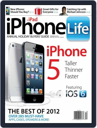 Iphone Life October 1st, 2012 Digital Back Issue Cover