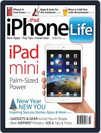 Iphone Life January 1st, 2013 Digital Back Issue Cover