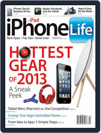 Iphone Life February 1st, 2013 Digital Back Issue Cover