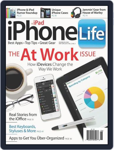 Iphone Life April 1st, 2013 Digital Back Issue Cover