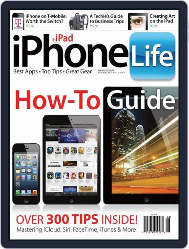 Iphone Life June 1st, 2013 Digital Back Issue Cover