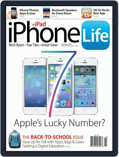 Iphone Life August 1st, 2013 Digital Back Issue Cover