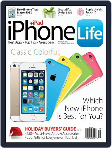 Iphone Life October 1st, 2013 Digital Back Issue Cover