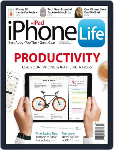 Iphone Life July 1st, 2016 Digital Back Issue Cover