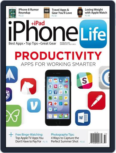Iphone Life June 1st, 2017 Digital Back Issue Cover