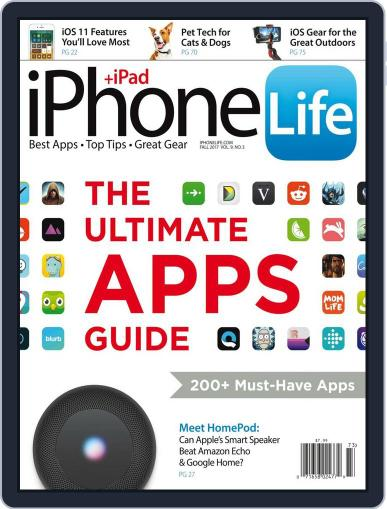 Iphone Life July 5th, 2017 Digital Back Issue Cover