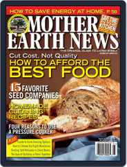 MOTHER EARTH NEWS (Digital) Subscription November 18th, 2011 Issue