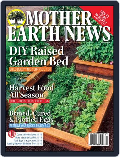 MOTHER EARTH NEWS April 1st, 2019 Digital Back Issue Cover