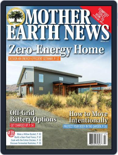 MOTHER EARTH NEWS June 1st, 2019 Digital Back Issue Cover