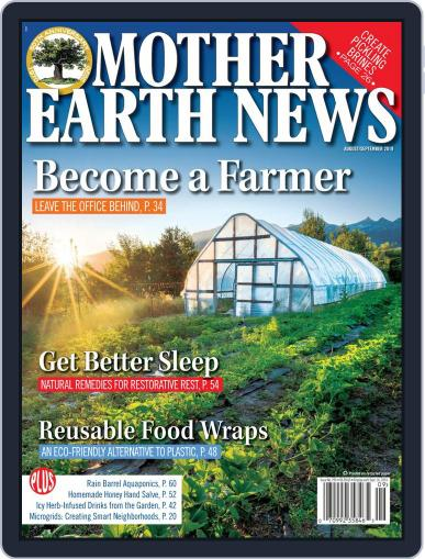 MOTHER EARTH NEWS August 1st, 2019 Digital Back Issue Cover