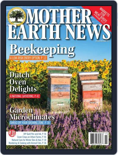 MOTHER EARTH NEWS October 1st, 2019 Digital Back Issue Cover