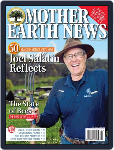 MOTHER EARTH NEWS December 1st, 2019 Digital Back Issue Cover
