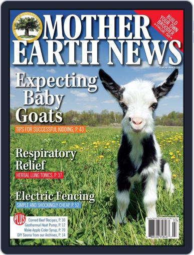 MOTHER EARTH NEWS February 1st, 2020 Digital Back Issue Cover