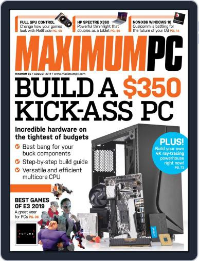 Maximum PC August 1st, 2019 Digital Back Issue Cover
