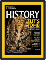 National Geographic History (Digital) Subscription March 1st, 2018 Issue