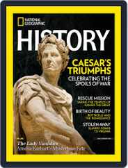 National Geographic History (Digital) Subscription July 1st, 2019 Issue