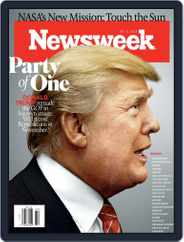Newsweek (Digital) Subscription August 10th, 2018 Issue