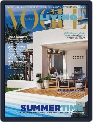 Vogue Living December 4th, 2012 Digital Back Issue Cover