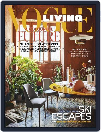 Vogue Living July 1st, 2018 Digital Back Issue Cover