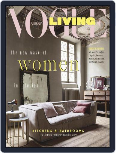 Vogue Living September 1st, 2018 Digital Back Issue Cover
