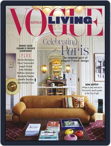 Vogue Living November 1st, 2019 Digital Back Issue Cover