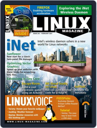 Linux Magazine (Digital) February 1st, 2021 Issue Cover