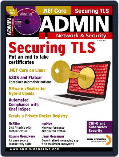 ADMIN Network & Security Magazine (Digital) November 1st, 2020 Issue Cover
