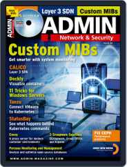 ADMIN Network & Security Magazine (Digital) Subscription September 1st, 2020 Issue