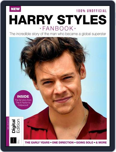 Harry Styles Fanbook February 19th, 2020 Digital Back Issue Cover