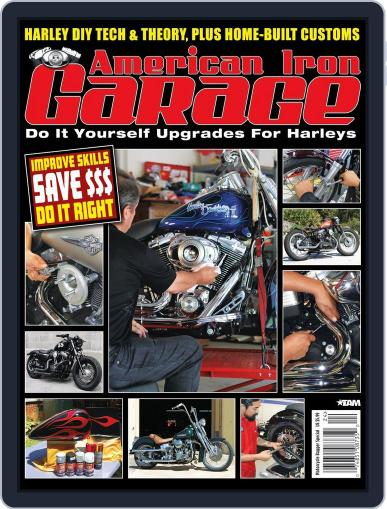 American Iron Garage (Digital) August 29th, 2012 Issue Cover