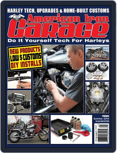 American Iron Garage (Digital) May 21st, 2014 Issue Cover
