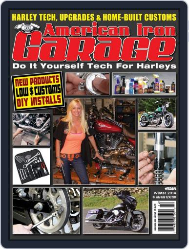American Iron Garage (Digital) September 19th, 2014 Issue Cover